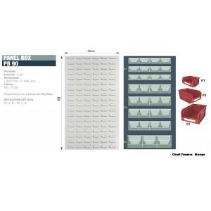 Kit Key box per pannello PB 90