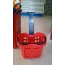 Trolley cestino spesa 64 litri di capienza