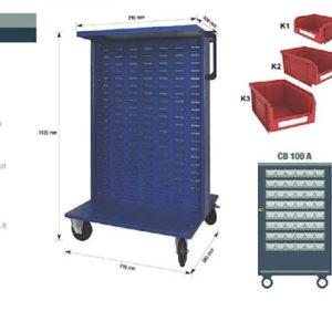 Kit Key box  K3 per CB 100